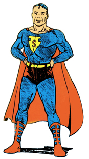 The pre-DC Superman