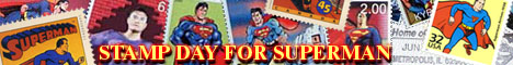 SUPERMAN STAMPS!