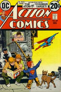 Superman in his COMICS!