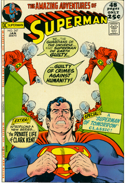 Superman #247, January, 1972