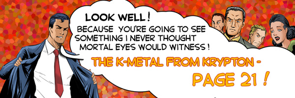 K-Metal from Krypton! Page 21
