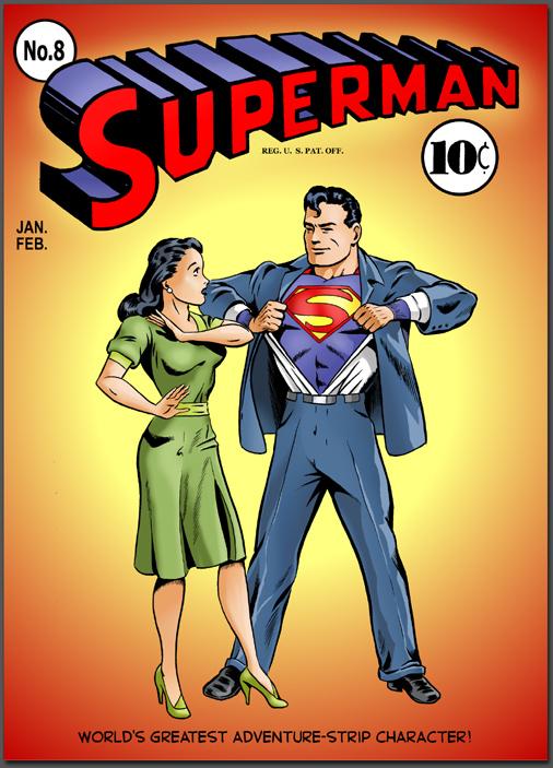 K-Metal from Krypton - Cover to Superman #8 [Criado & Rivard]