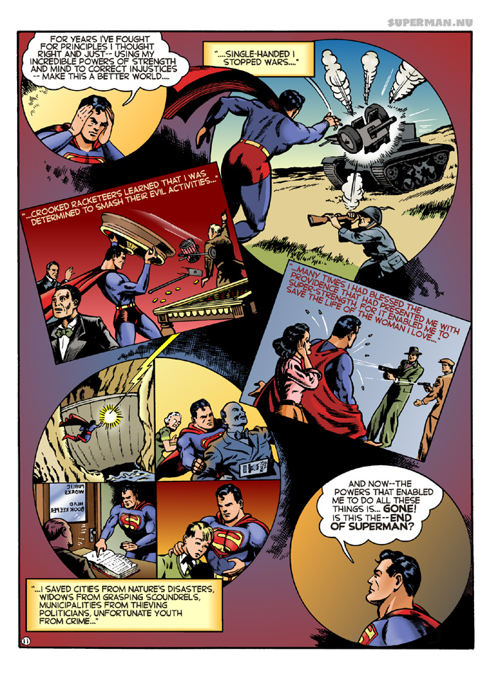 K-Metal from Krypton - Page 11: The End of Superman? [Boring & Rivard]