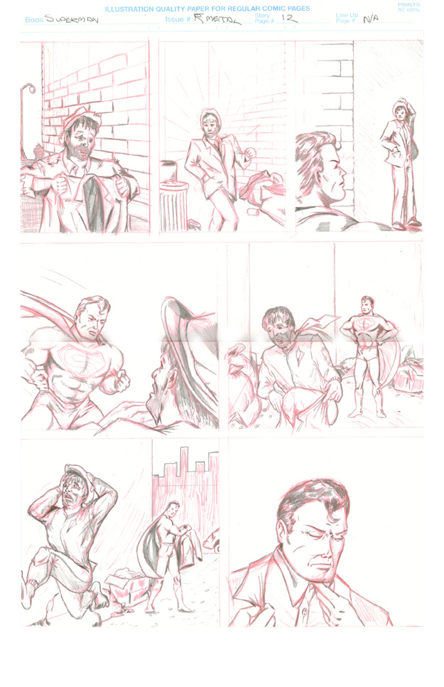 K-Metal from Krypton - Page 12: Lucky Day [Boring & Komisarow]