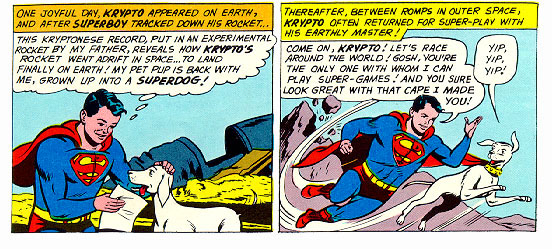 Krypto Arrives!